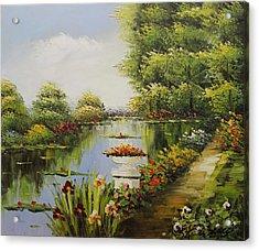 Oil Msc 038 Acrylic Print