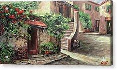 Oil Msc 058 Acrylic Print