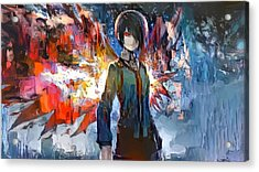 Oil Touka Kirishima Acrylic Print