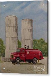Oil Truck Acrylic Print