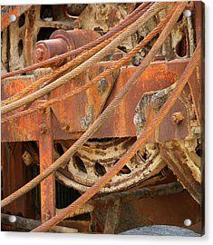 Oil Production Rig Acrylic Print