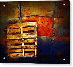 Okanagan Pallet Acrylic Print by Bill Kellett