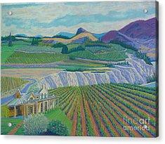 Okanagan Valley Acrylic Print