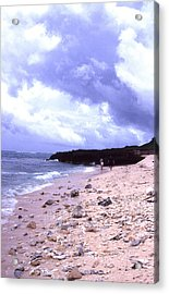 Okinawa Beach 15 Acrylic Print by Curtis J Neeley Jr