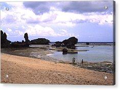 Okinawa Beach 18 Acrylic Print by Curtis J Neeley Jr