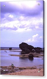 Okinawa Beach 20 Acrylic Print by Curtis J Neeley Jr