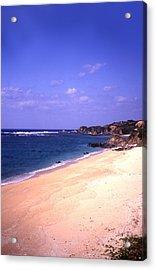 Okinawa Beach 22 Acrylic Print by Curtis J Neeley Jr