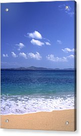 Okinawa Beach 8 Acrylic Print by Curtis J Neeley Jr