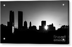 Acrylic Print featuring the photograph Oklahoma City by Betty LaRue