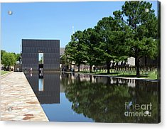 Oklahoma City National Memorial Bombing Acrylic Print