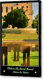 Oklahoma City National Memorial Acrylic Print