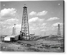 Oklahoma Crude Acrylic Print