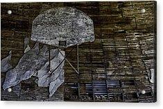 Oklahoma Decay Acrylic Print by David Longstreath