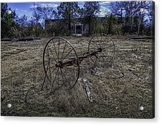 Oklahoma Rural Landscape 1 Acrylic Print by David Longstreath