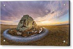 Okotoks Big Rock Erratic Acrylic Print