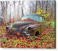 Ol' 49 Chevy Coupe Acrylic Print