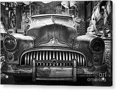 Acrylic Print featuring the photograph Ol' Buick Eight by Dean Harte