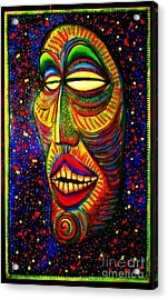 Ol' Funny Face Acrylic Print