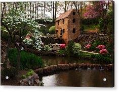 Ol' Water Mill Acrylic Print