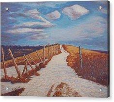 Olands Farm Acrylic Print