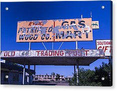 Old 66 Trading Post Acrylic Print
