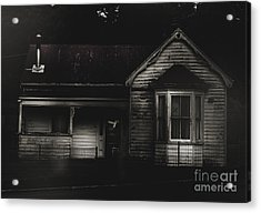 Old Abandoned Haunted House Of Horrors Acrylic Print by Jorgo Photography - Wall Art Gallery