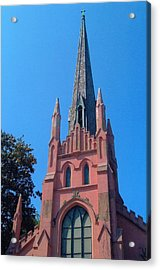 Old Abbeville Church Acrylic Print by Larry Bishop