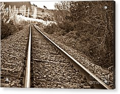 Acrylic Print featuring the photograph Old Abundant Railway by Yurix Sardinelly