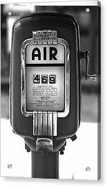 Old Air Pump Acrylic Print by Arni Katz