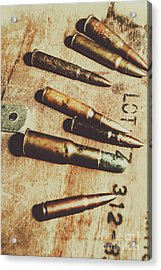Old Ammunition Acrylic Print