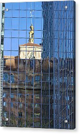 Acrylic Print featuring the photograph Old And New Patterns by Phyllis Denton