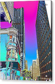 Old And New Acrylic Print