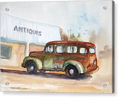 Old And Rusty Acrylic Print by Bobby Walters