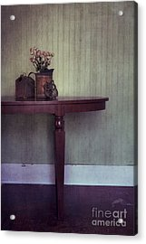 Old And Rusty Acrylic Print by Priska Wettstein