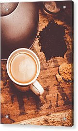 Old Artistic Vintage Tea Still Life Acrylic Print by Jorgo Photography - Wall Art Gallery