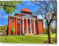 Old Ashe Courthouse Acrylic Print by Dale R Carlson