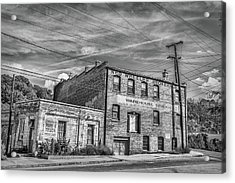 Old Asheville Building Acrylic Print