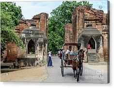 Old Bagan Acrylic Print