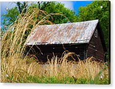 Old Barn In Roxborough Acrylic Print by Bill Cannon