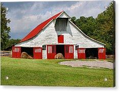 Old Barn Acrylic Print by Kristin Elmquist