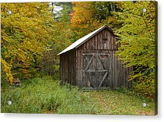 Old Barn New England Acrylic Print