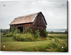 Old Barn On Seneca Lake - Finger Lakes - New York State Acrylic Print