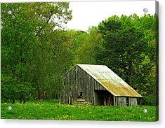 Old Barn V Acrylic Print