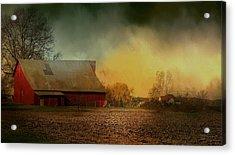 Old Barn With Charm Acrylic Print