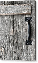 Old Barn Wood Door Acrylic Print by Elena Elisseeva