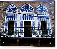 Old Beirut Home  Acrylic Print