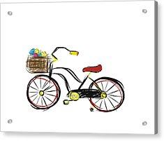 Old Bicycle Acrylic Print