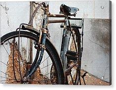 Old Bike II Acrylic Print by Robert Meanor