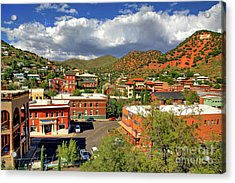 Old Bisbee Arizona Acrylic Print
