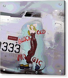 Old Black Magic Acrylic Print by Charles Shoup